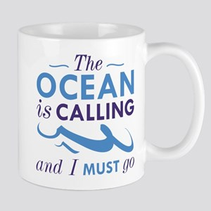 The Ocean Is Calling Mug