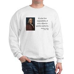 Benjamin Franklin 17 Sweatshirt