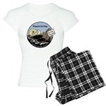 Sea Otter Savvy Women's Pajamas