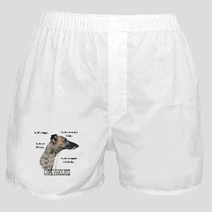 Greyhound FAQ Boxer Shorts