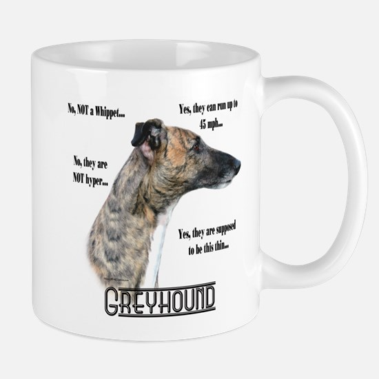 Greyhound FAQ Mug