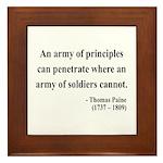 Thomas Paine 4 Framed Tile