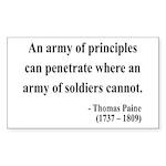 Thomas Paine 4 Rectangle Sticker