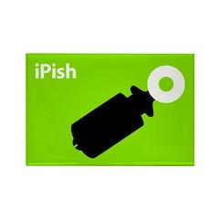 iPish (green) Rectangle Magnet