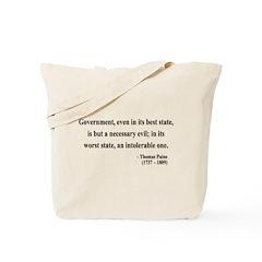Thomas Paine 2 Tote Bag