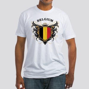 Belgium Fitted T-Shirt