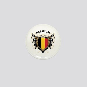 Belgium Mini Button