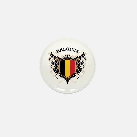 Belgium Mini Button