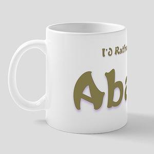 I'd Rather Be...Abaco Mug