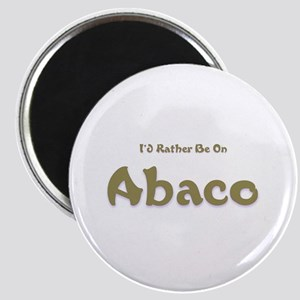 I'd Rather Be...Abaco Magnet