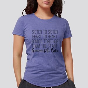 Gamma Phi Beta Sister Womens Tri-blend T-Shirt