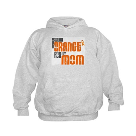 I Wear Orange For My Mom 6 Kids Hoodie