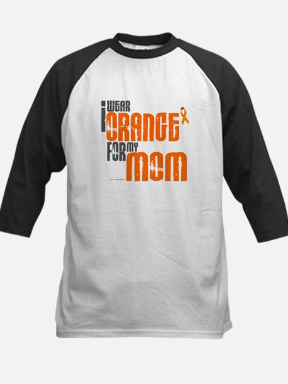 I Wear Orange For My Mom 6 Kids Baseball Jersey