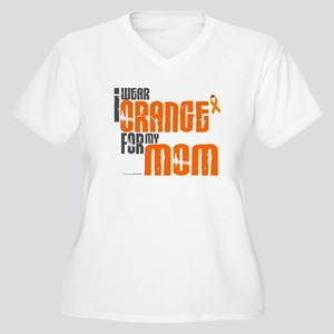 I Wear Orange For My Mom 6 Women's Plus Size V-Nec