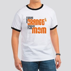 I Wear Orange For My Mom 6 Ringer T