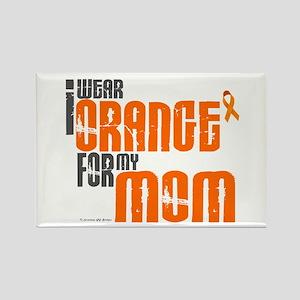 I Wear Orange For My Mom 6 Rectangle Magnet