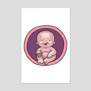 Buddha Belly Mini Poster Print