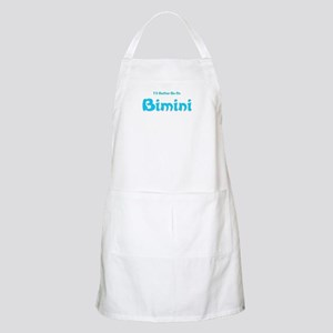 I'd Rather Be...Bimini BBQ Apron