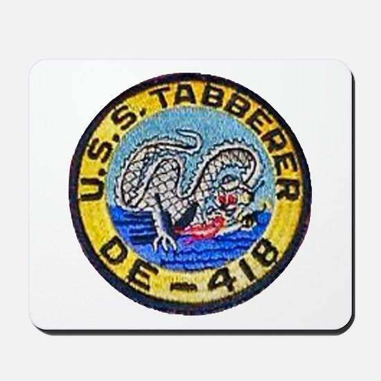 USS TABBERER Mousepad