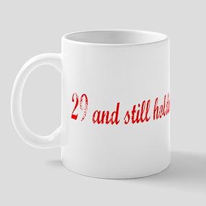 29 still holding Mug