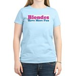 Blondes Have More Fun Women's Light T-Shirt
