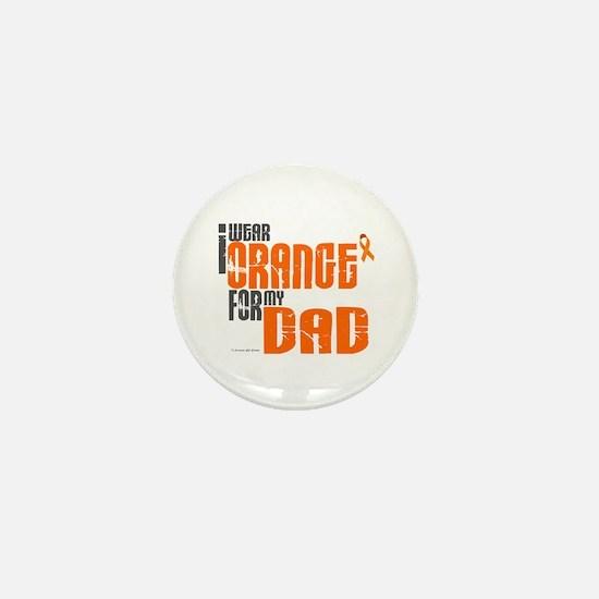 I Wear Orange For My Dad 6 Mini Button