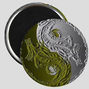 Dragons Yin-Yang Magnet