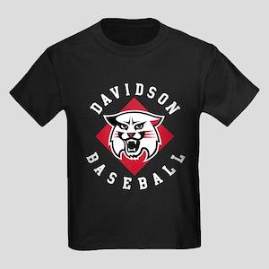 Davidson Baseball Kids Dark T-Shirt