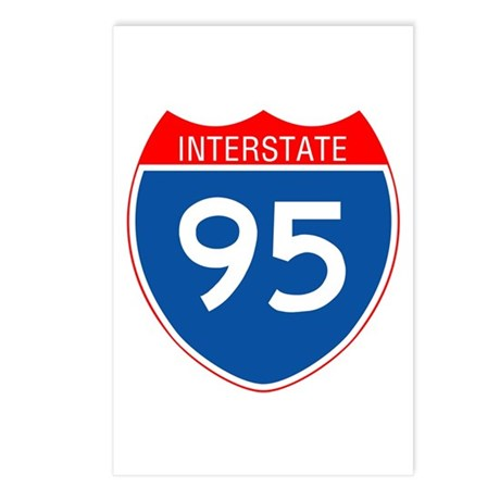 Interstate 95 Postcards (Package of 8)
