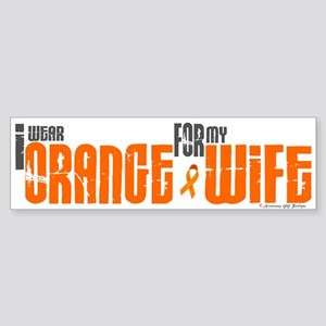 I Wear Orange For My Wife 6 Bumper Sticker