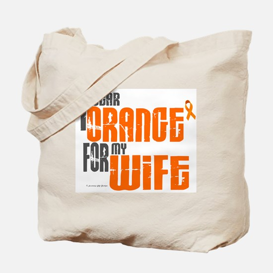 I Wear Orange For My Wife 6 Tote Bag
