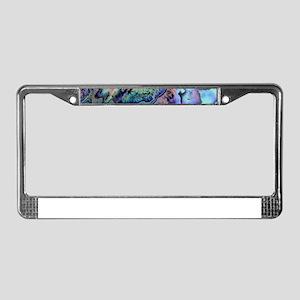Abalone License Plate Frame
