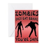 ZOMBIES Greeting Cards