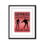 ZOMBIES Framed Panel Print