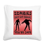 ZOMBIES Square Canvas Pillow