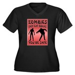ZOMBIES Plus Size T-Shirt