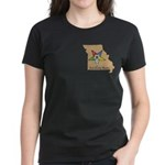 OES PWM - Missouri Women's Dark T-Shirt