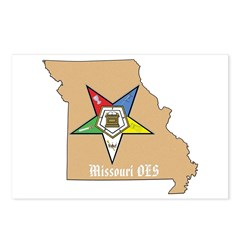 Order of the Eastern Star Missouri Postcards (Pack