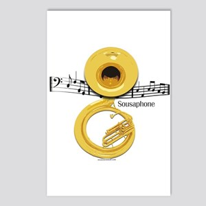 Sousaphone Music Postcards (Package of 8)