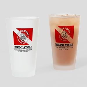 Bikini Atoll Drinking Glass
