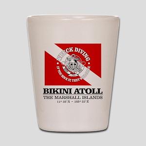 Bikini Atoll Shot Glass