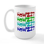 Howzit Large Mug