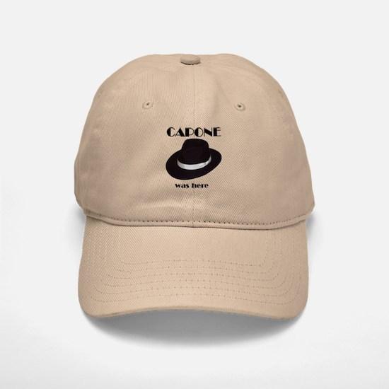 Capone Baseball Baseball Cap