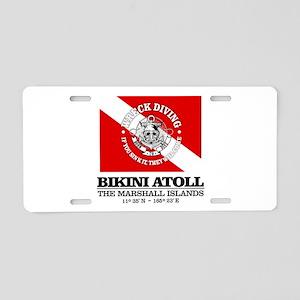 Bikini Atoll Aluminum License Plate