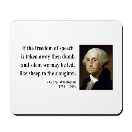 George Washington 3 Mousepad