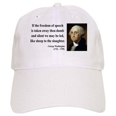 George Washington 3 Baseball Cap