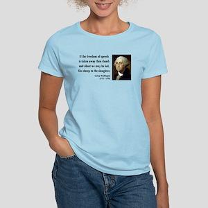 George Washington 3 Women's Light T-Shirt