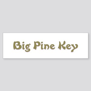 Big Pine Key Bumper Sticker