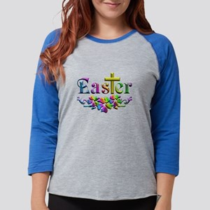 Easter Cross and Flowers Long Sleeve T-Shirt