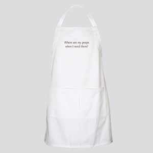 Where Are My Peeps BBQ Apron